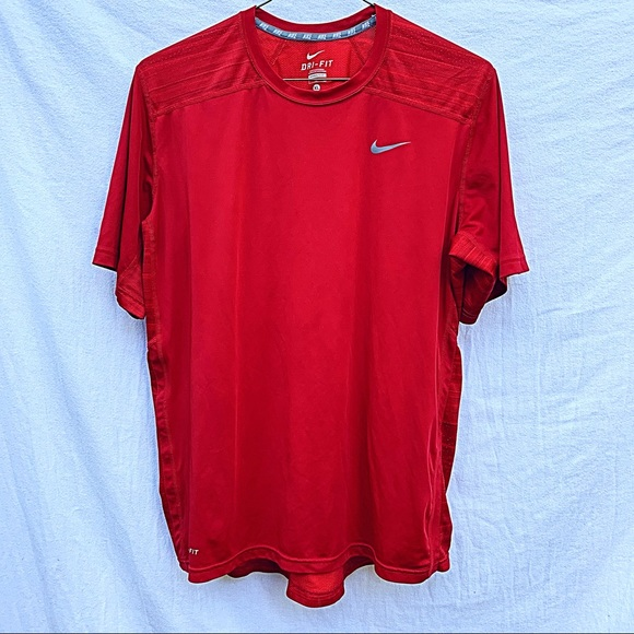c9f15a24 Nike Shirts | Dryfit Mens Red Mesh Xl Athletic Shirt | Poshmark